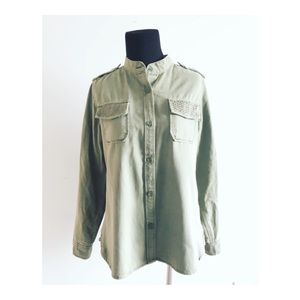 • Lucky Brand Military Jacket •